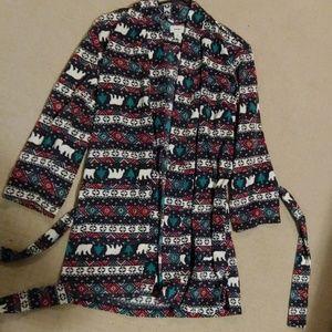 Fleece Old Navy house coat